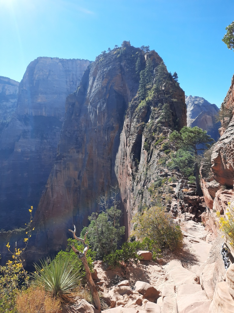 Chain section of Angel's Landing
