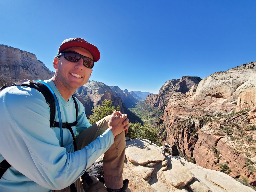 Made it to Angel's Landing!