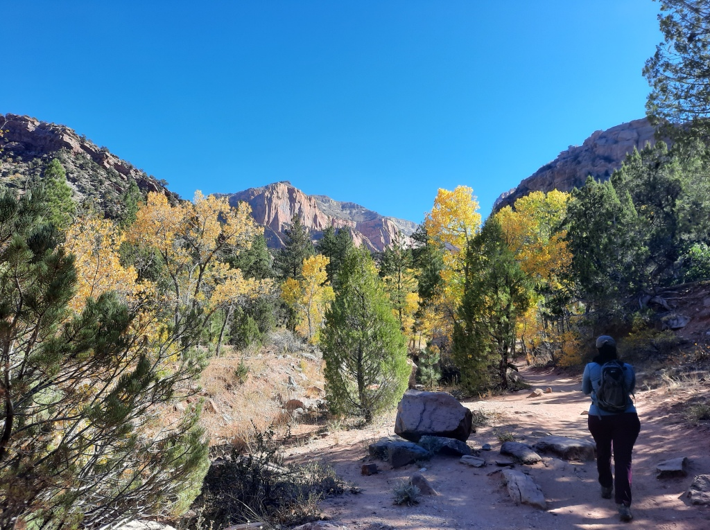 Kolob Canyon Trail